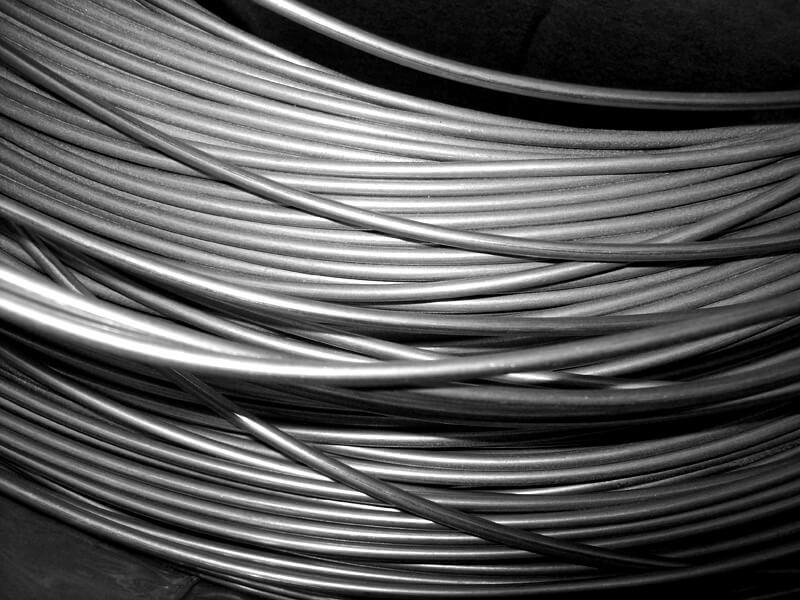 filo di zinco per metallizzazione