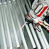 Zincatura a spruzzo elementi di recinzione