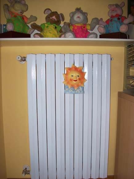 sabbiatura termosifone