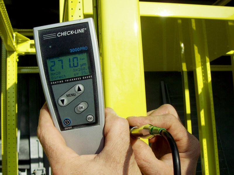 report con esiti dei controlli effettuati durante le lavorazioni di verniciatura