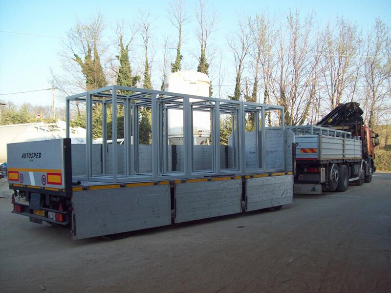 Servizio di ritiro e consegna di manufatti sottoposti a sabbiatura
