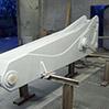 Metallizzazione allo zinco-alluminio componente di gru