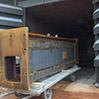 colonna prima della metallizzazione